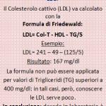 Calcolo delle LDL con la formula di Friedewald