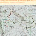 Santa croce del Monte Alpi_Vecchio e nuovo percorso in grafico